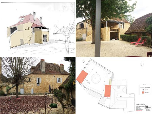 uitbreiding met een veranda en een buitenkeuken