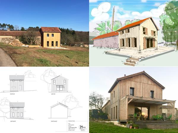 gezinshuis in houtskeletbouw