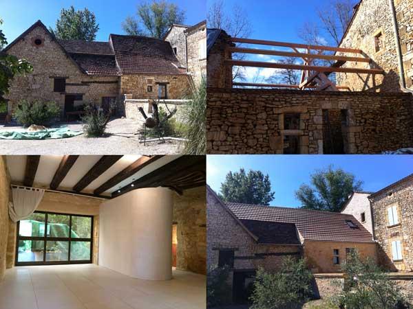 restauratie van een woonhuis